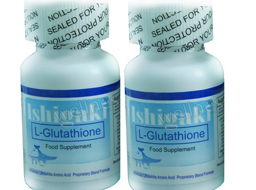 Ishigaki Advanced Ultrawhite Reduced Glutathione Supplement 60 capsules (30X2)