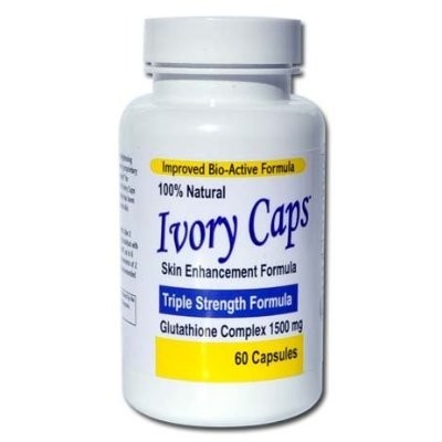 Ivory Caps Triple Strength Glutathione Formula Complex 1500mg