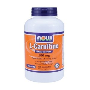Now Foods L-carnitine 500mg 180 Vcaps Fitness Support and Weightloss