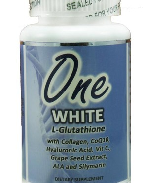 One White Skin Renewal Softgels ​​​Glutathione with Collagen and Coq10 1350mg x 30​