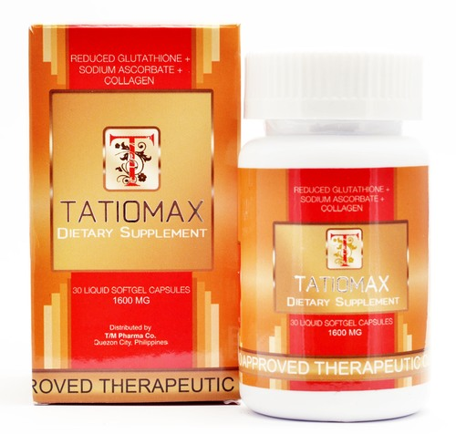 Where to Buy Tatiomax Softgel Reduced L-Glutathione with Vitamin C 1600mg x 30