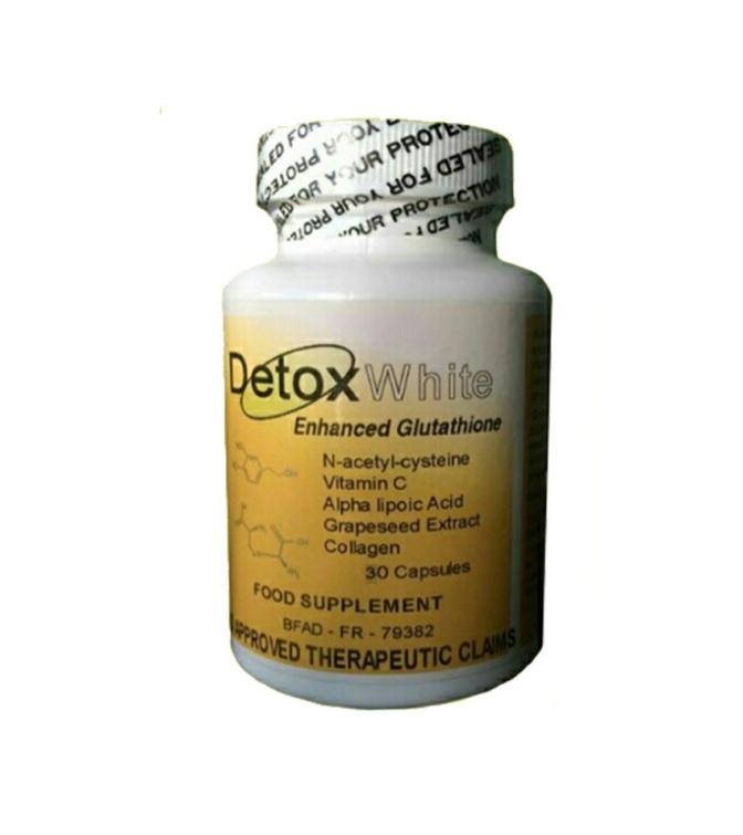 Detox White Glutathione Reduced Glutathione Complex 60 capsules