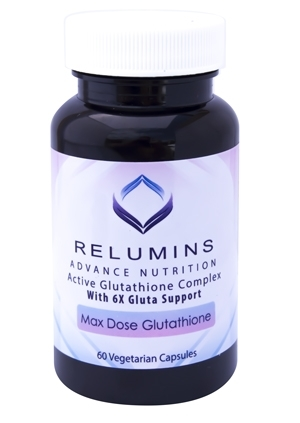 Maximum Strength Glutathione Formula with 900mg L-Glutathione w/6X Gluta Booster