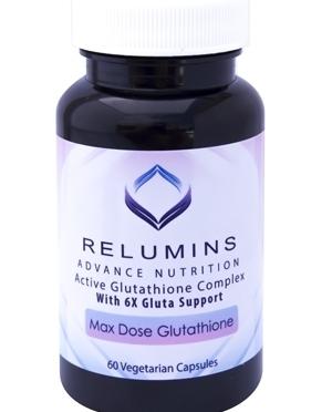 Maximum Strength Glutathione Formula with 900mg L-Glutathione w/6X Gluta Booster
