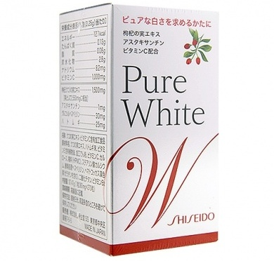 Shiseido Purewhite Premium Glutathione Supplement 270 tablets