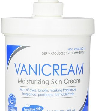 Vanicream Moisturizing Skin Cream with Pump Dispenser, 1 lb