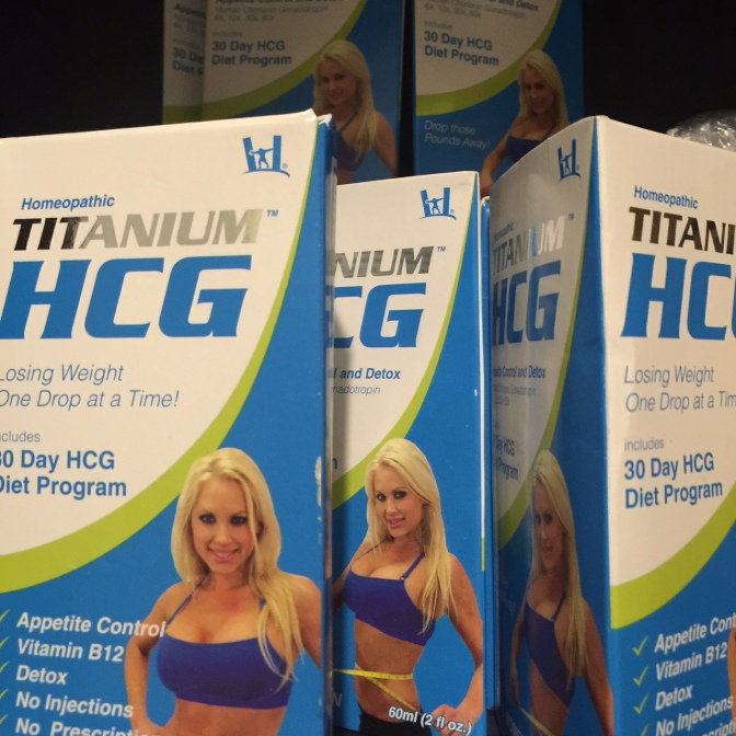 HCG Titanium Diet Drops for Weightloss