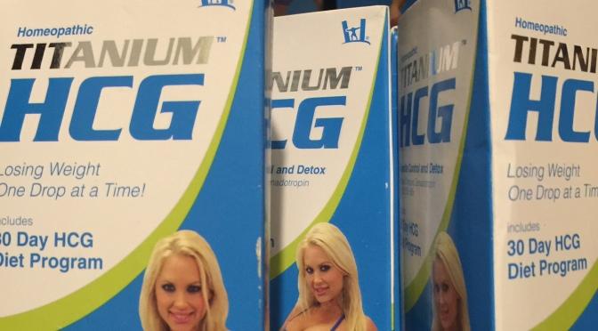 HCG Titanium Diet Drops for Weightloss