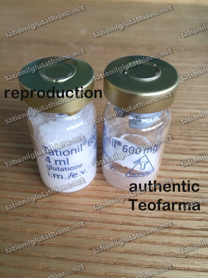 How to identify a Fake Tationil or Reproduced Teofarma Tationil from an Authentic Tationil