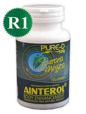 Ainterol Breast Enhancement Pills Pueraria Mirifica 100 caps