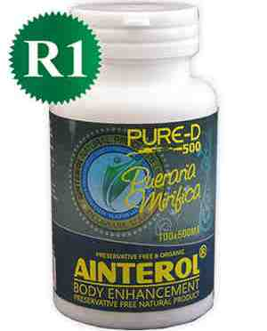 Ainterol Breast Enhancement Pills ​Pueraria Mirifica 100 caps
