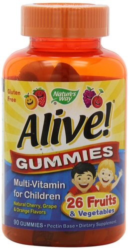 Alive! Gummies Complete Multivitamins for Children 90 gummies