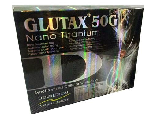 Glutax 50g Nano Titanium Glutathione Complete Set 10 dripsets