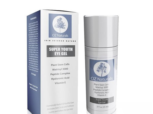 Best Eyebag Gel: Oz Natural Eye Gel Super Youth Gel